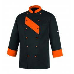 Chaquetilla de cocina unisex EGOCHEF 104029 ORANGE PATCH
