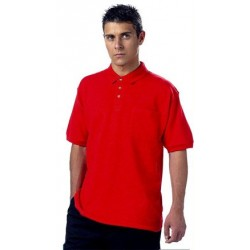 Polo laboral MONZA 3000 (Sólo disponible 1 unidad de la talla SG-XXL color amarillo)