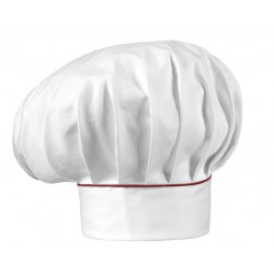 Gorro gran chef EGOCHEF 7000003P BORDEAUX PIPING (pack 2 uds.)