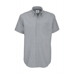 Camisa Oxford SSL/Men shirt B&C SM002