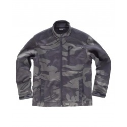 Chaqueta Workshell con estampado de camuflaje WORKTEAM S8510