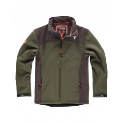 Chaqueta Workshell con canesús WORKTEAM S8600