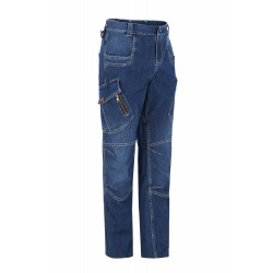 Pantalón multibolsillos stretch denim SLIM FIT MONZA 01804