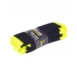 Pack de tres pares de calcetines WORKTEAM WFA021