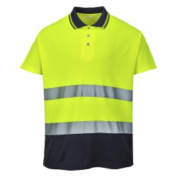 Polo bicolor Cotton Confort PORTWEST S174