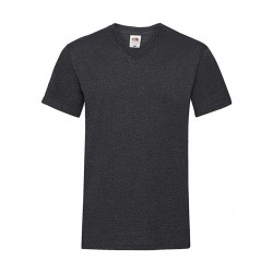 Camiseta valueweight para hombre con cuello de pico FRUIT OF THE LOOM 61-066-0
