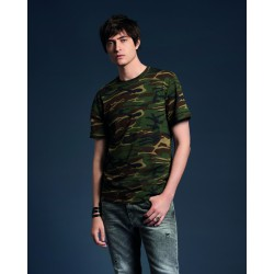Camiseta camuflaje Heavyweight Hombre ANVIL 939