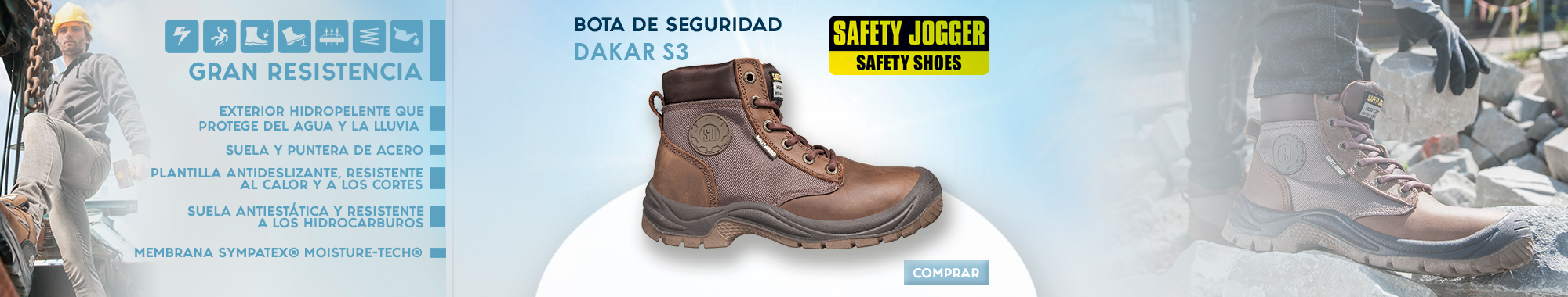 Bota Safety Jogger Dakar