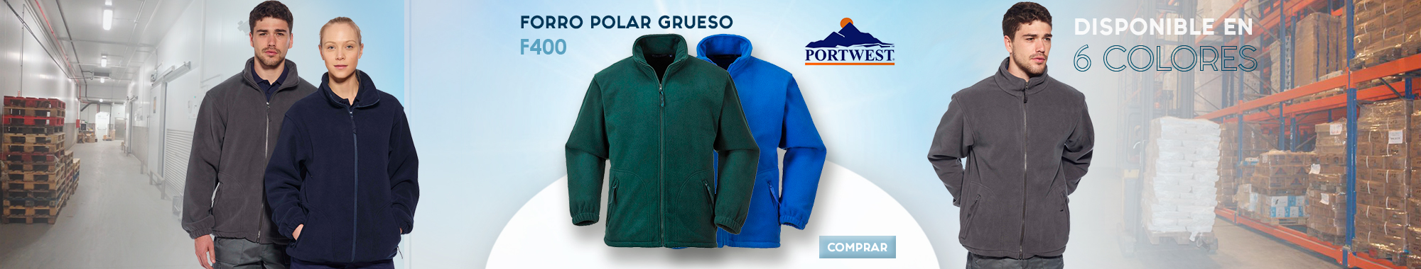 Forro polar Portwest F400