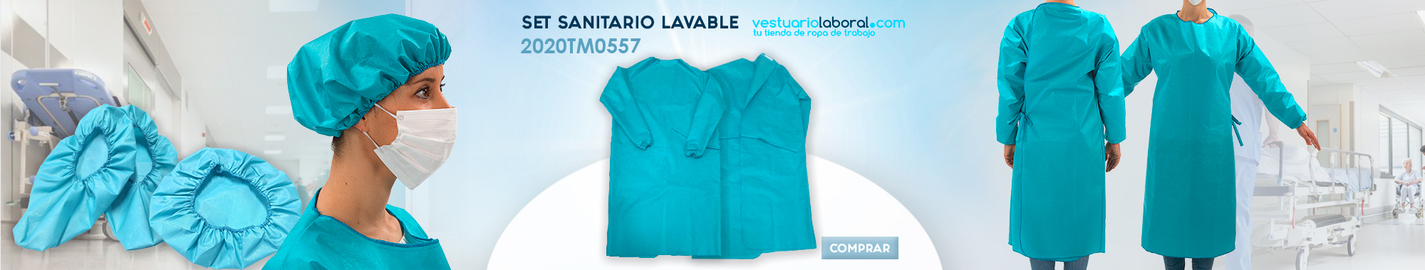 Set sanitario lavable