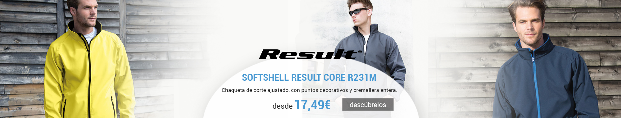 Softshell Result core R231